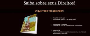 Ebook sobre direitos e benefícios da pessoa com deficiencia.
